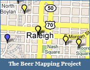 North Carolina Beer Map